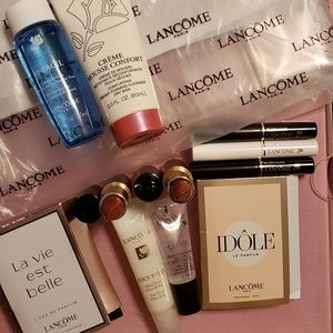 🆕️Lancome 11pc + FREE Lancome Clear Tote Bag